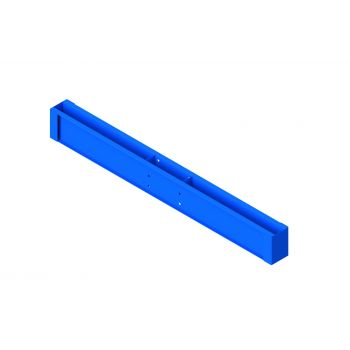 Base Welded Double Sided (305mm column/1200mm arm) Blue