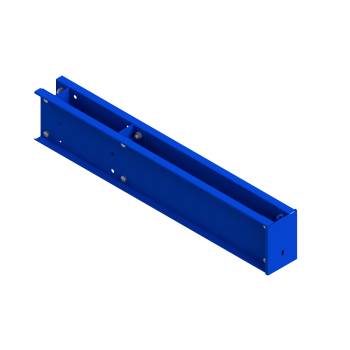 Base Bolted Single Sided (305mm column/1200mm arm) Blue