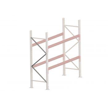 Brace Pallet Racking Diagonal 838mm (988mm) Pre-gal