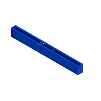 Base Bolted Double Sided (305mm column/1200mm arm) Blue