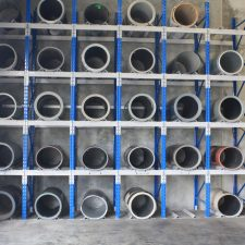 Selective Pallet Racking is used for storing heavy steel coils on pallets on pallet racking beams in high density warehouses around Melbourne, Sydney, Brisbane and Australia.