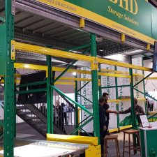 BHD storage solution in the exhibition