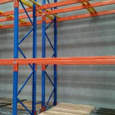 Double Deep Pallet Racking is used for storing pallets on pallet racking beams in high density warehouses around Melbourne, Sydney, Brisbane and Australia.