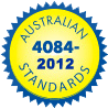 Australian standards footer logo