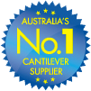 Australia's No.1 cantilever supplier logo