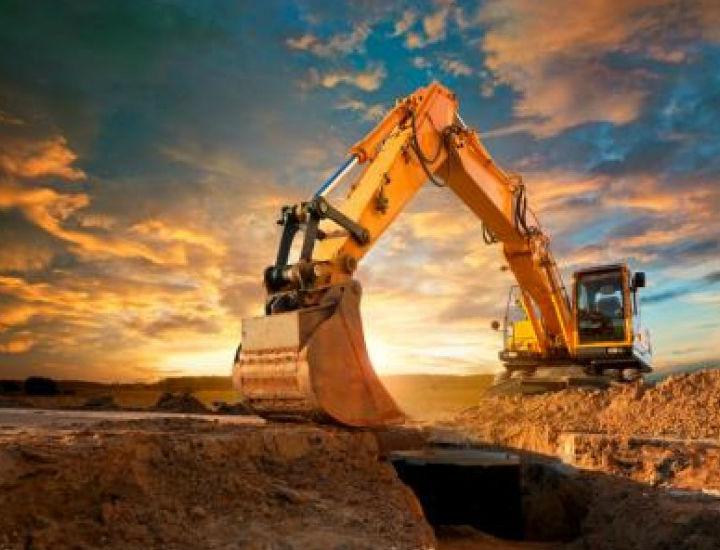 bulldozer in operation