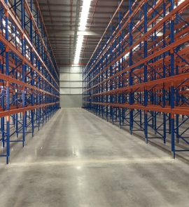 Selective Pallet Racking is used for storing pallets on pallet racking beams in high density warehouses around Melbourne, Sydney, Brisbane and Australia.