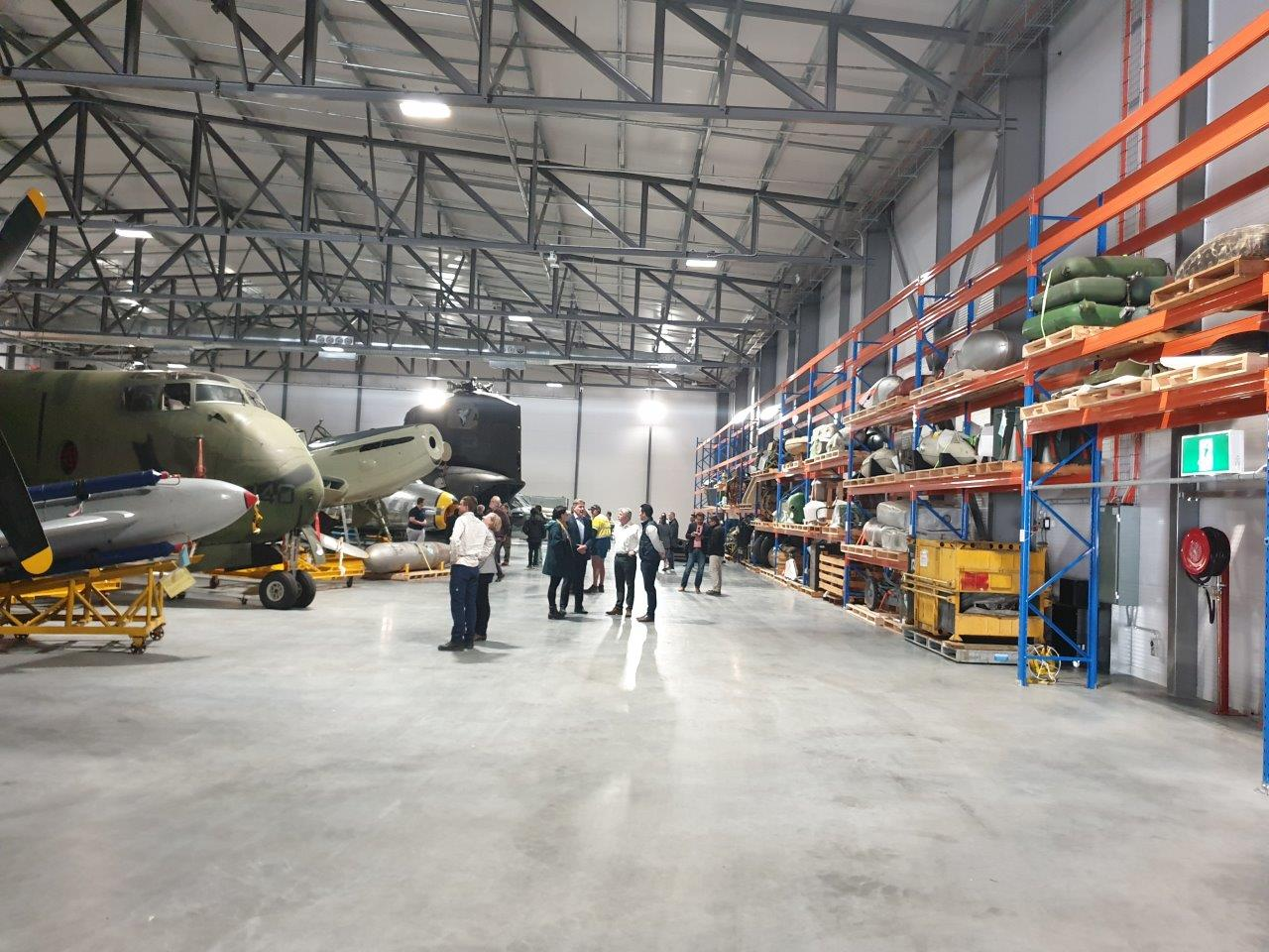historical missile and aircraft exhibition
