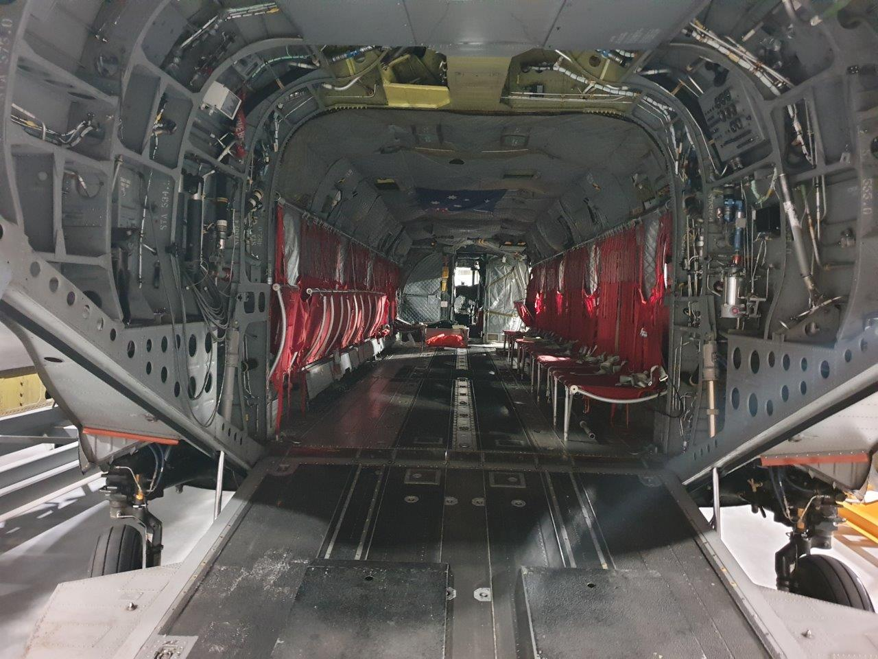 transport aircraft inner picture