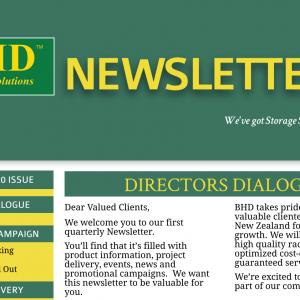 BHD Storage Solutions – Newsletter Summer 2019/20