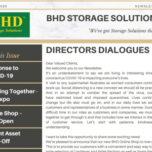 BHD Newsletter May 2020