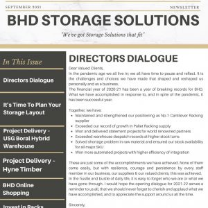 BHD Storage Solutions – September 2021