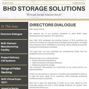 BHD Storage Solutions – March 2021